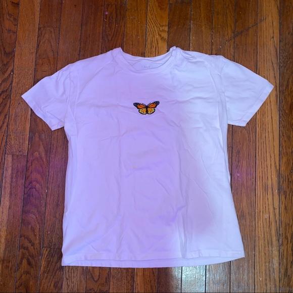 Brandy Melville butterfly tee